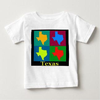 Texas Map Baby T-Shirt