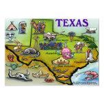 "TEXAS Map Card 5"" X 7"" Invitation Card"