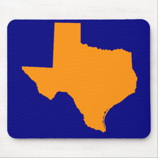 TEXAS MAP MOUSE PAD