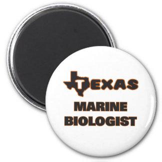 Texas Marine Biologist 6 Cm Round Magnet