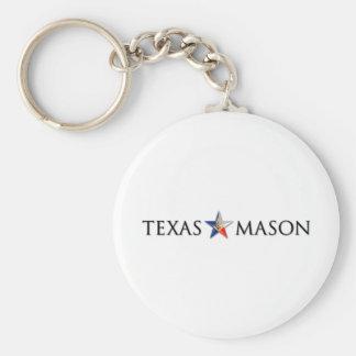 Texas Mason Key Ring