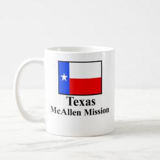 Texas McAllen Mission Drinkware Basic White Mug