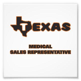 Texas Medical Sales Representative Art Photo