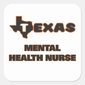 Texas Mental Health Nurse Square Sticker
