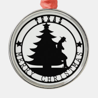 Texas Merry Christmas Christmas Ornament