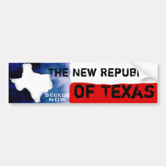 Texas Message Bumper Sticker