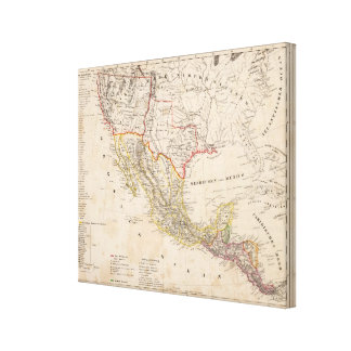 Texas, Mexico Gallery Wrapped Canvas