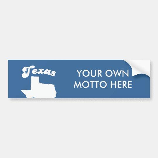 Texas - More cattle than democrats T-shirt Bumper Sticker