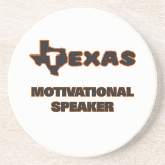 Texas Motivational Speaker Beverage Coaster