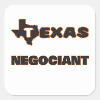 Texas Negociant Square Sticker