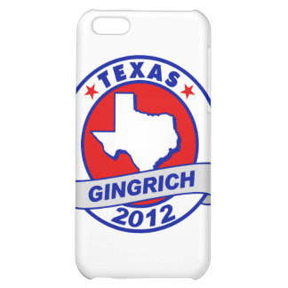 Texas Newt Gingrich iPhone 5C Cases