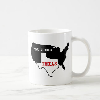 Texas / Not Texas Coffee Mug