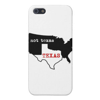 Texas / Not Texas iPhone 5 Cases