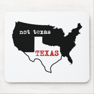 Texas / Not Texas Mouse Mat