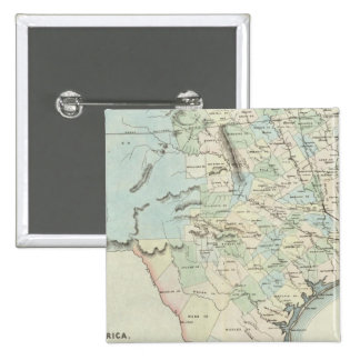 Texas of the United States of America 15 Cm Square Badge