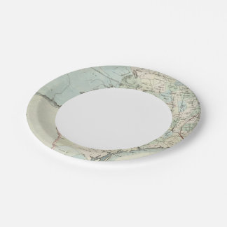 Texas of the United States of America 7 Inch Paper Plate