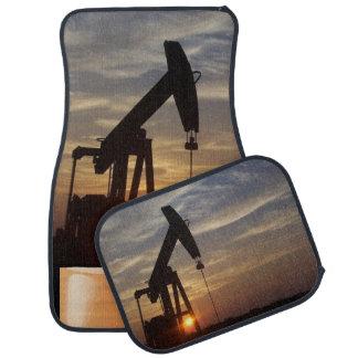 Texas oil car mat