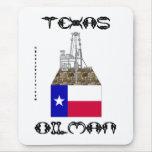 Texas Oilman,Oil Field Mousepad,Oil,Gas,