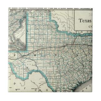Texas Pacific Railway Tile