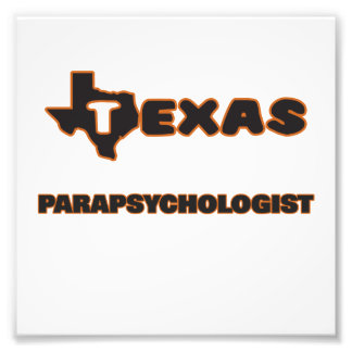 Texas Parapsychologist Photo Print