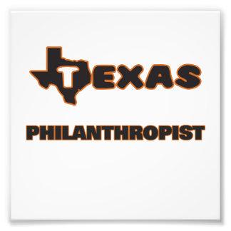 Texas Philanthropist Photographic Print