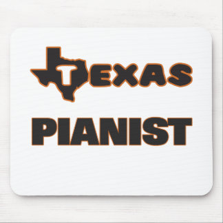 Texas Pianist Mouse Pad