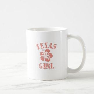 Texas Pink Girl Mugs