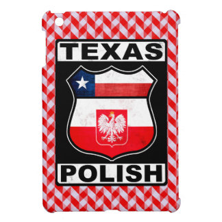 Texas Polish American iPad Cover