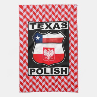 Texas Polish American Tea Towels