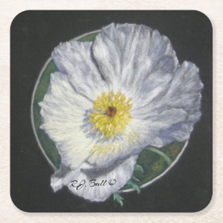 """Texas Poppy"" coaster"