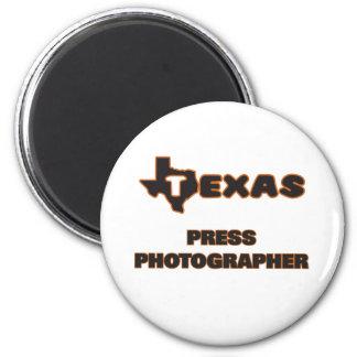 Texas Press Photographer 6 Cm Round Magnet