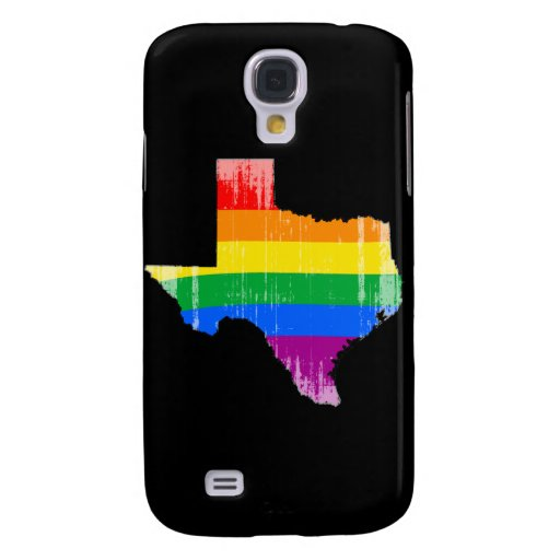 TEXAS PRIDE - DISTRESSED -.png Galaxy S4 Case