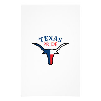 TEXAS PRIDE STATIONERY PAPER