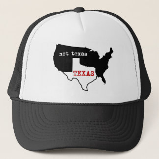 Texas Pride! Texas / Not Texas Trucker Hat