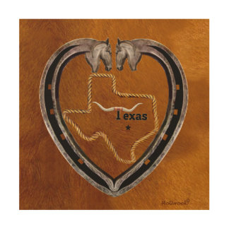 Texas Pride Wood Wall Art