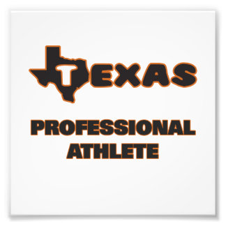 Texas Professional Athlete Photo Print
