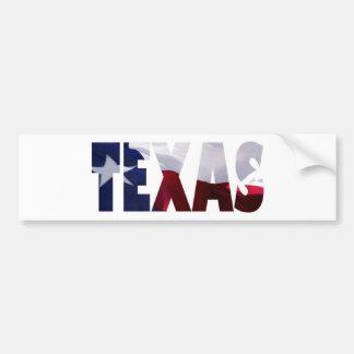 Texas Proud Bumper Sticker