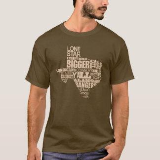Texas Proud - Texas Shape(light graphic) T-Shirt