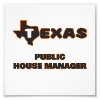 Texas Public House Manager Photographic Print