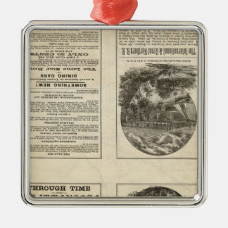Texas Railroad 2 Christmas Ornament