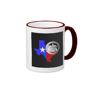 Texas Ranger Tea Party - Black Mugs