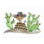 Texas Rattlesnake Postcard