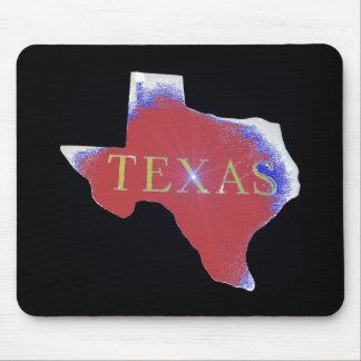 texas red sparkle mousepad