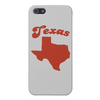 TEXAS Red State iPhone 5 Covers