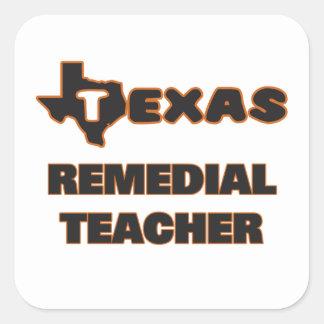 Texas Remedial Teacher Square Sticker
