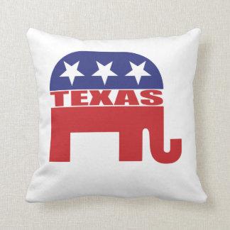 Texas Republican Elephant Cushion