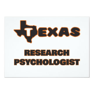 Texas Research Psychologist 5x7 Paper Invitation Card