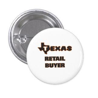 Texas Retail Buyer 3 Cm Round Badge