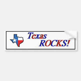 Texas Rocks! Bumper Sticker