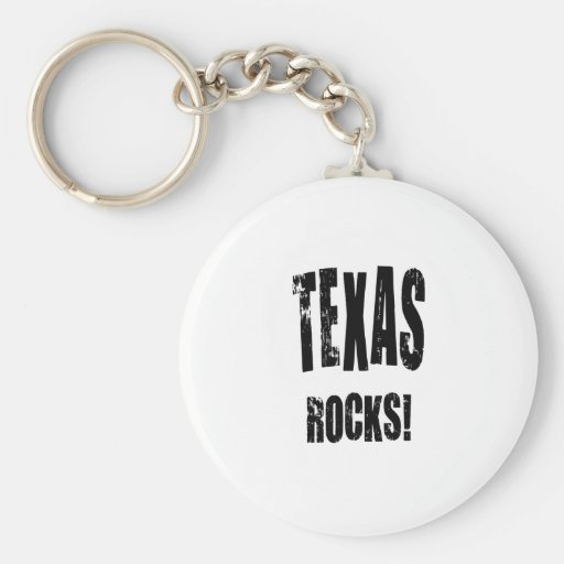 Texas Rocks! Keychains